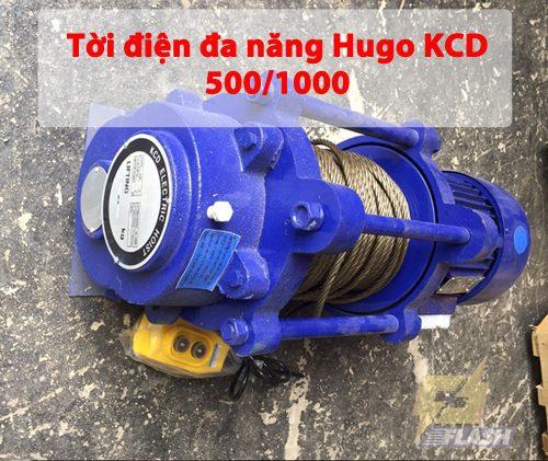 Tời điện đa năng Hugo KCD 500/1000: Đặc điểm, thông số và cách dùng